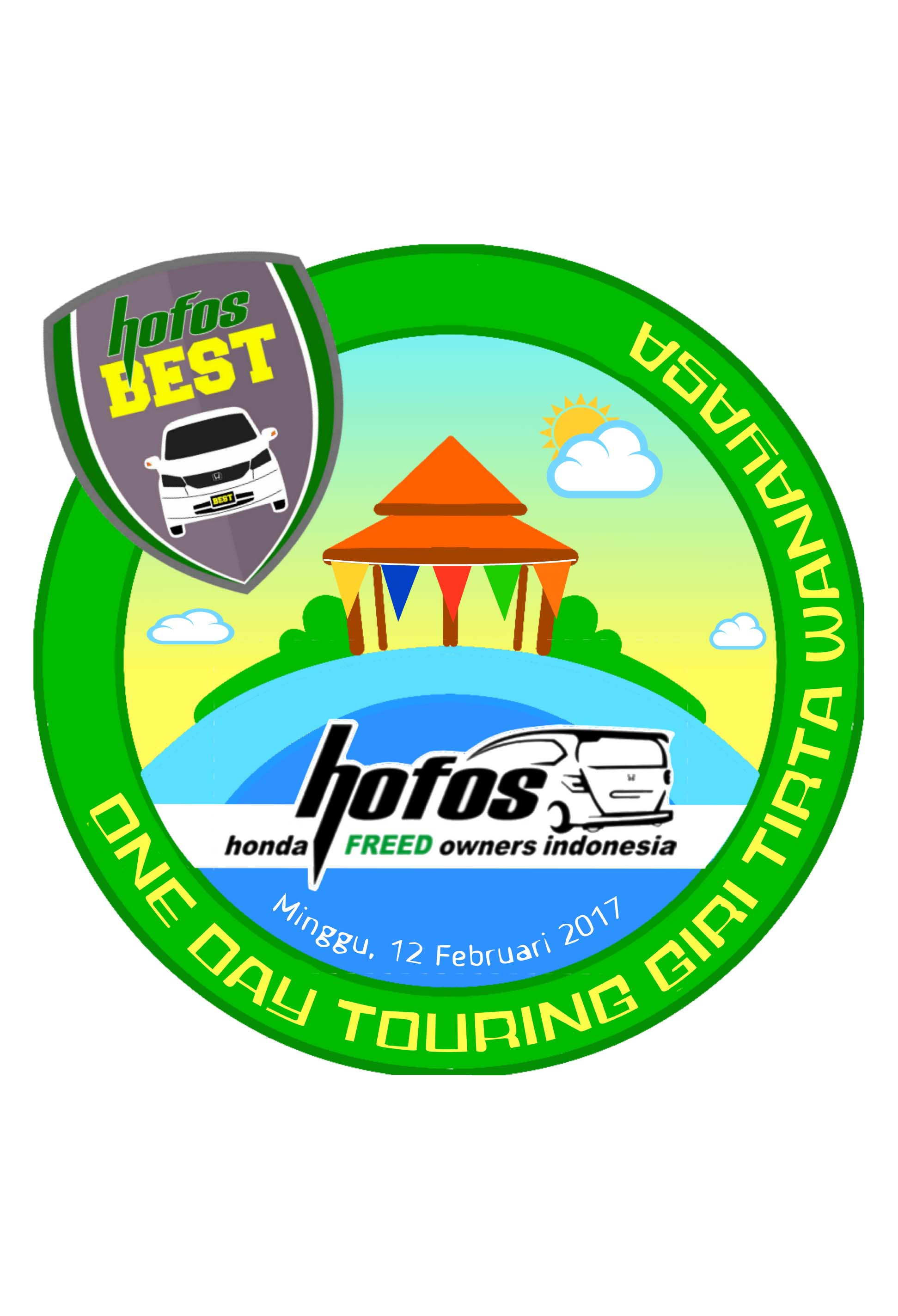 One Day Touring HOFOS BEST ke Giri Tirta Wanayasa