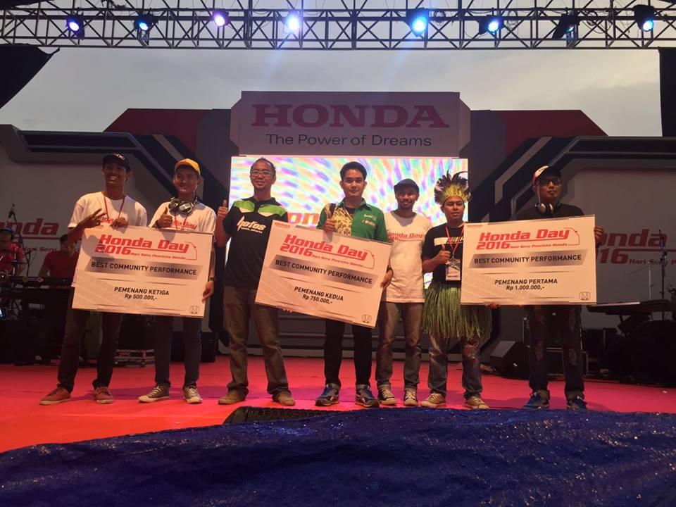 Honda Day 2016