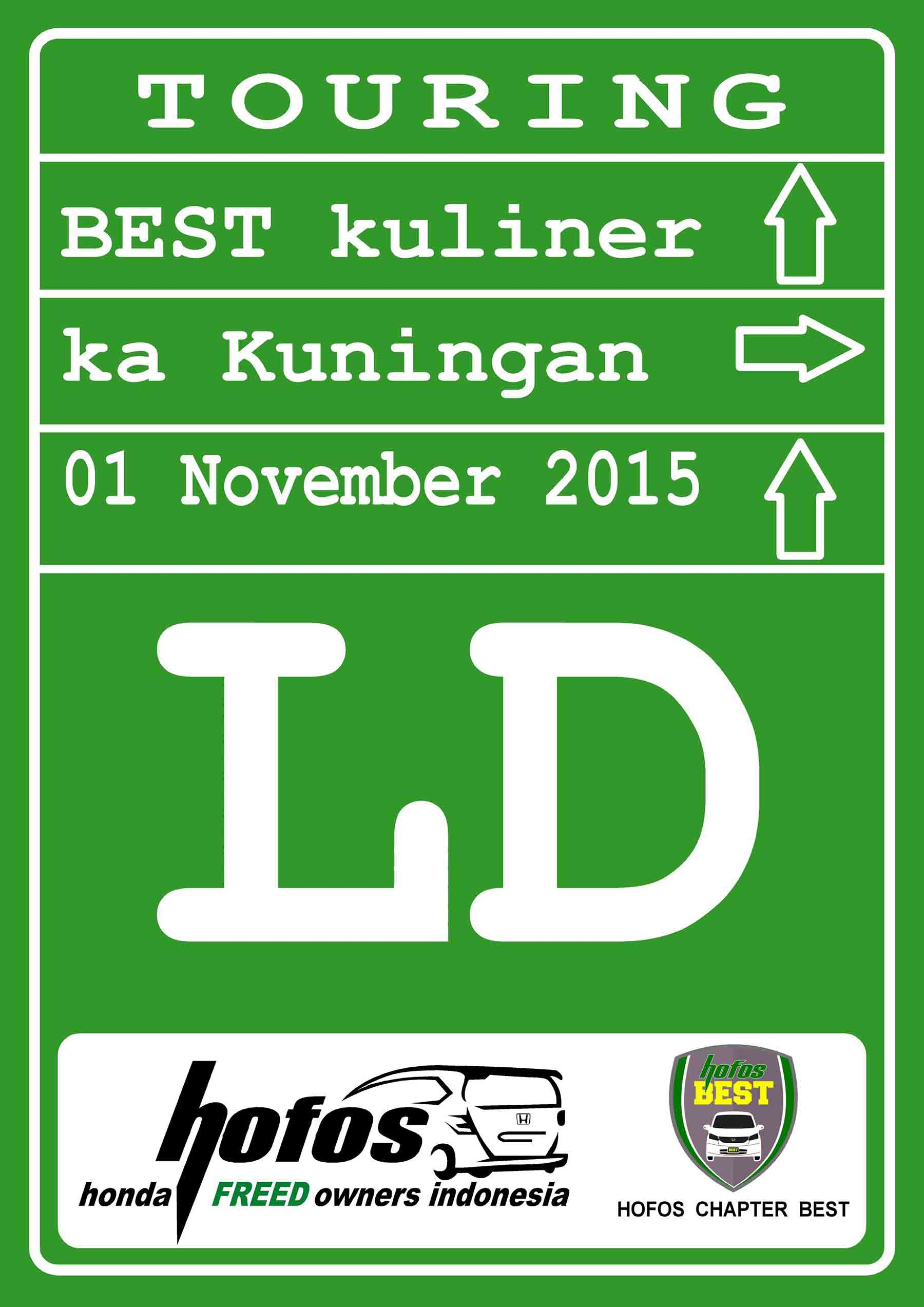 One Day Touring HOFOS BEST ke Kuningan