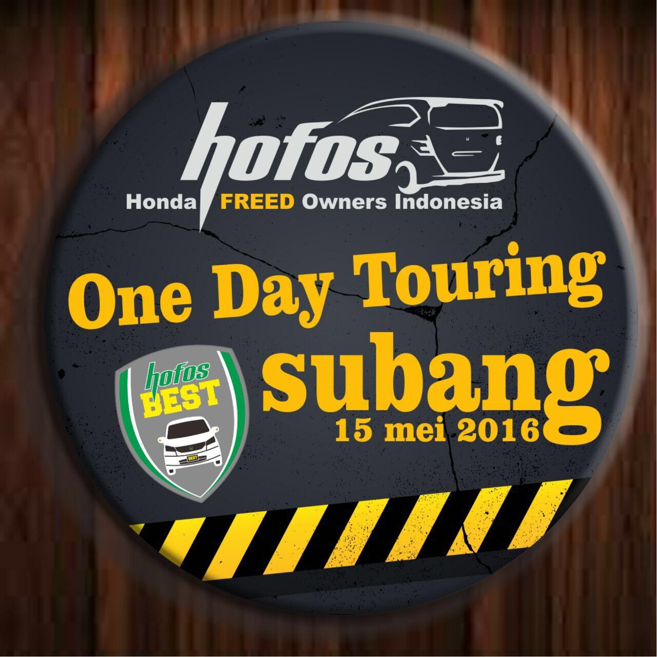 One Day Touring HOFOS BEST ke Subang