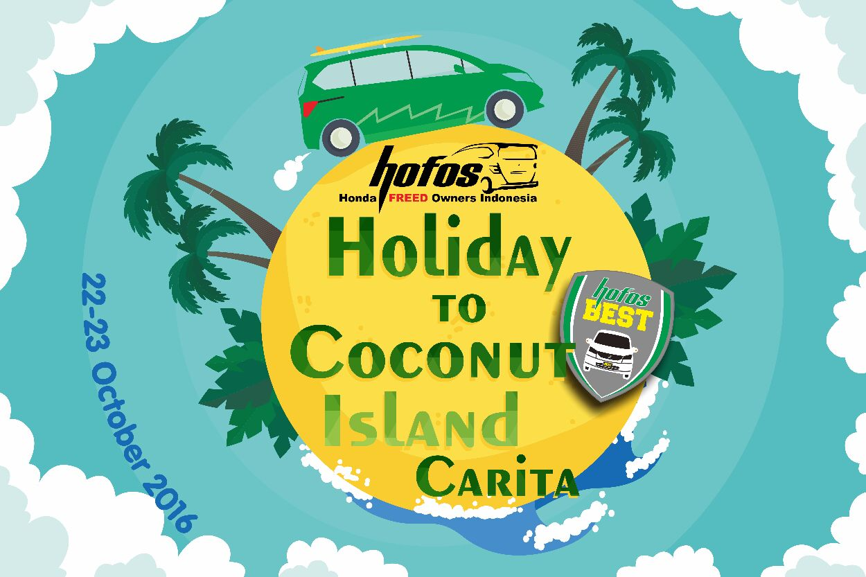 Touring HOFOS BEST Holiday 2 Coconut Island Carita