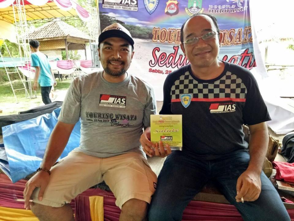 Hofos SerayaTouring bareng IAS ke Tanjung Lesung