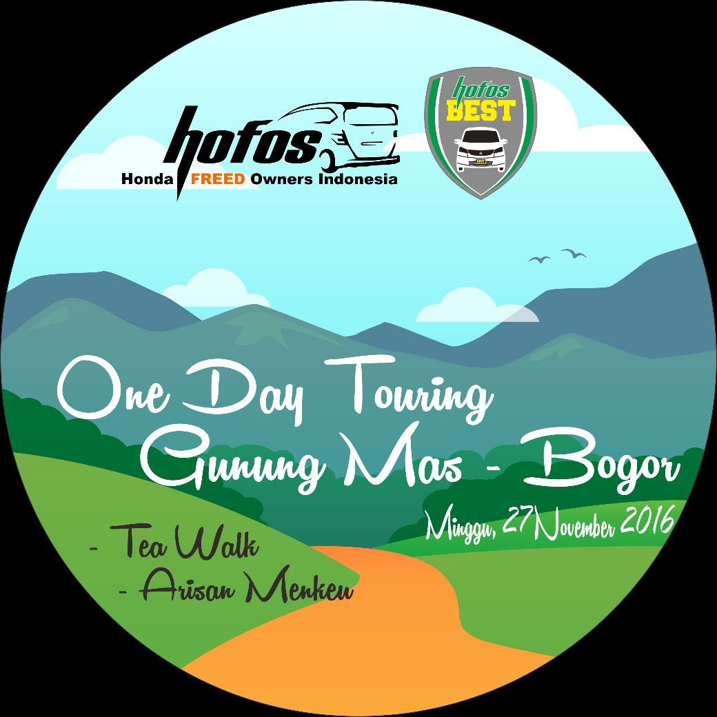 One Day Touring HOFOS BEST Tea Walk ke Gunung Mas
